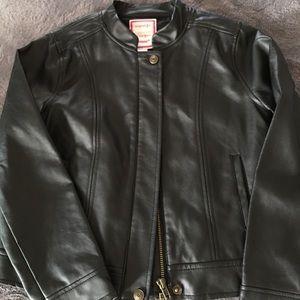 Gymboree Leather Like Jacket. Size 7-8